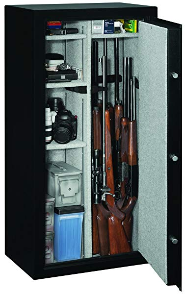 Stack-On SS-22-MB-E SS22 Gun Safe, 22, Black